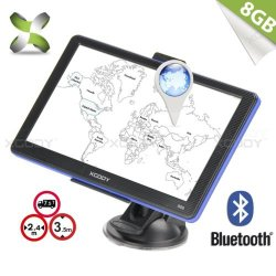 XGODY 7 Bluetooth NAVIGATORE SATELLITARE GPS 256M...