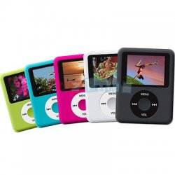 Lettore mp4 mp3 player ultra slim video radio FM...