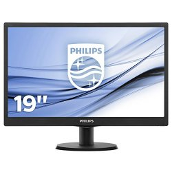 Philips 193V5LSB2/10 Monitor LED con SmartControl...