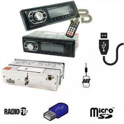 AUTORADIO FM STEREO USB/AUX/MICRO SD CARD RADIO...