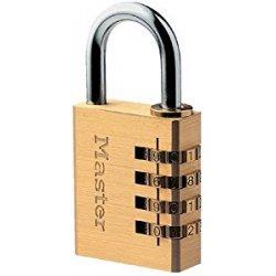 Master Lock 604EURD Lucchetto a Combinazione, in...
