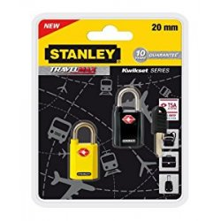 Stanley 81181393401 Combo di Lucchetti TSA in...