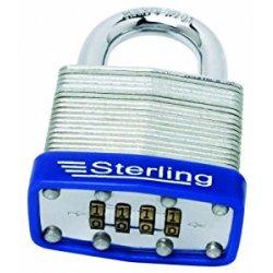 Sterling CPL146 - Lucchetto con combinazione a 4...