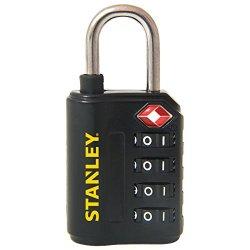 Stanley 81150393401 Lucchetto TSA a 4 Cifre, 30...