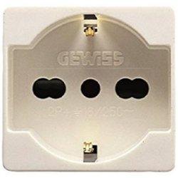 Gewiss 80020S GW20246 System Presa Schuko, 10/16...