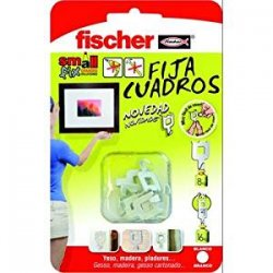 Fischer, 522206, Ganci per quadri, 8 pz., colore...
