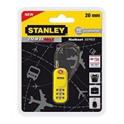 Stanley 81161393401 Lucchetto TSA Giallo a 3...