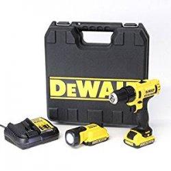 DeWalt DCD710D2F-QW - Set avvitatore a batteria...