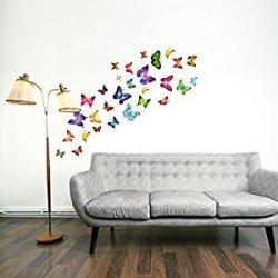 adesivi murali farfalla 21 singole farfalle...