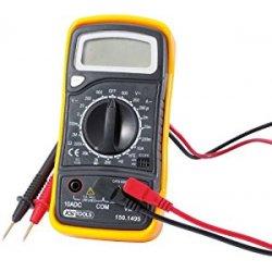 KS Tools 150.1495 - Multimetro digitale (puntali...