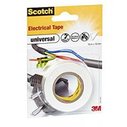 Scotch Universal 4401WHT Nastro Isolante in PVC,...