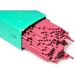 Aparoli 100541 - Elettrodi cilindrici professionali non legati 1000 S, Ø 2,5 mm, 4,4 kg, colore: Rosso