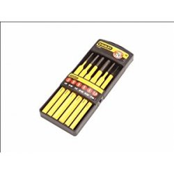 Stanley 418226 Kit punzone, 6 pezzi