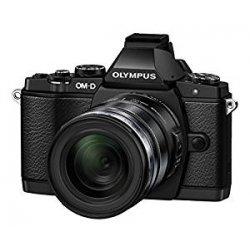 Olympus V2040451E000 E-M5 Elite Fotocamera con Obiettivo 12-50 mm Nero