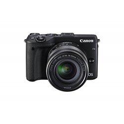 Canon EOS M3 Fotocamera Mirrorless da 24 Megapixel con Obiettivo EF-M 18-55mm Kit di Accessori