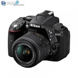 NUOVO NIKON D5300 FOTOCAMERA REFLEX SLR+ AF-P...