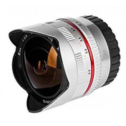 Samyang Obiettivo 8mm F/2,8 UMC Fish-Eye per Fuji...