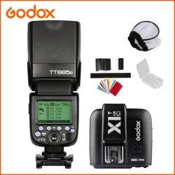 Godox TT685C 2.4G HSS E-TTL GN60 Flash + X1 TTL...