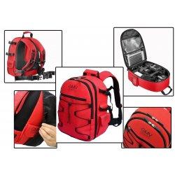 Zaino Reflex Rosso per fotocamera SLR e accessori...