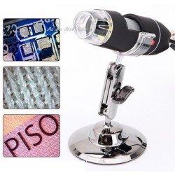 MICROSCOPIO DIGITALE 40X 1000X USB PC NOTEBOOK...