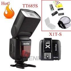 Godox TT685S 2.4G HSS TTL GN60 Flash + X1T-S...