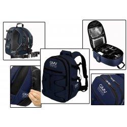 Zaino Reflex Blu per fotocamera SLR e accessori +...