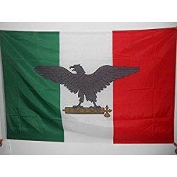 BANDIERA REPUBBLICA SOCIALE ITALIANA 150x90cm -...