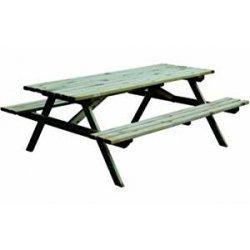Tavolo con panche legno blinky