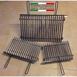 Griglia acciaio inox, graticola inox per barbecue...