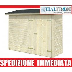 BOX CASETTE DI LEGNO CASETTA DA GIARDINO IN LEGNO...
