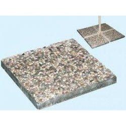 1 base per ombrellone in ghiaino graniglia 20 kg...