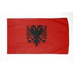 BANDIERA ALBANIA 150x90cm - BANDIERA ALBANESE 90...
