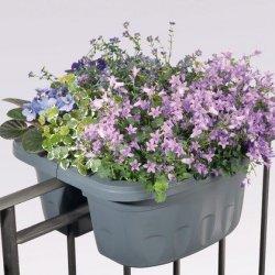Vaso balcone fioriera doppia Klunia Bama cm 50...