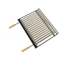 Imex la Volpe 71664-Griglia barbecue inox, 68 x...