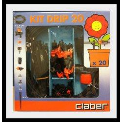 CLABER 90764 KIT DRIP 20 PER IRRIGAZIONE A GOCCIA.