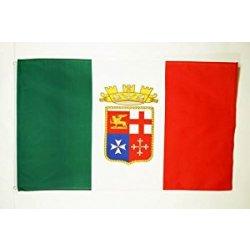 BANDIERA ITALIA MARINA MILITARE 150x90cm -...