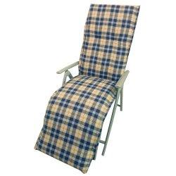 Sedia a sdraio cuscino - Lunghezza totale 174 cm...