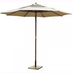 Ombrellone Da Giardino In Legno Mod. Sun Top...