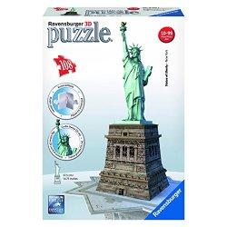 Ravensburger 12584 - Statua della Libertà Puzzle...