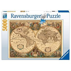 Ravensburger 17411 Antico mappamondo Puzzle 5000...