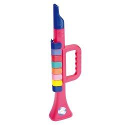 Bontempi TR2732N - Tromba con 8 tasti colorati,...