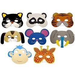 Playwrite - Set di 20 maschere di schiuma per...