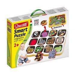 Quercetti 0232 - Smart Puzzle Jungla & Savana -...