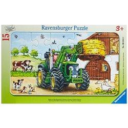 Ravensburger 06044 - Puzzle a quadro, Trattore...