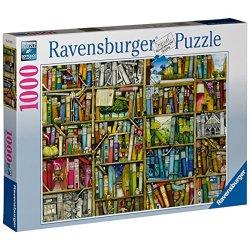 Ravensburger 19137 - Libreria Bizzarra Puzzle,...