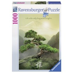 Ravensburger 19389 9 - Albero Zen, Puzzle 1000...