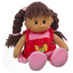 Heunec 470576 - Bambola Lucy con capelli castani,...