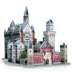 Castello di Neuschwanstein - Puzzle 3D 890 Pezzi