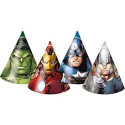6 Cappellini da festa Avengers