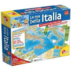 Liscianigiochi 43873 - Piccolo Genio Geopuzzle,...